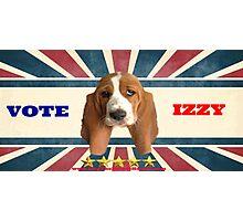 Vote Izzy Photographic Print
