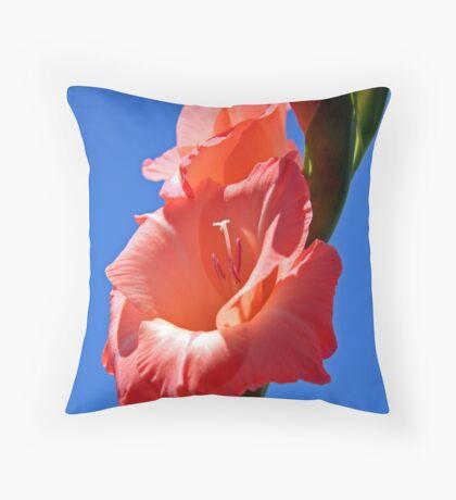 ~gladiola~ Throw Pillow