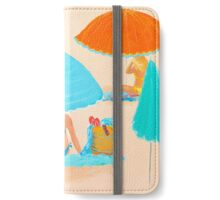 Beach painting - Beach Style iPhone Wallet/Case/Skin
