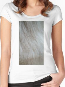 Beautiful Fur Women's Fitted Scoop T-Shirt