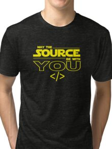 May the Source be with You Tri-blend T-Shirt