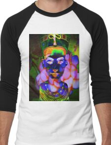 6991 Neferneferuaten Nefertiti T Men's Baseball ¾ T-Shirt