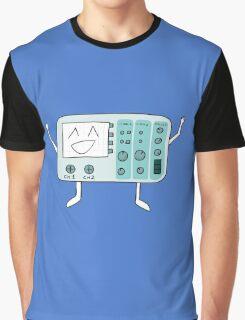 Happy Osciloscope Graphic T-Shirt