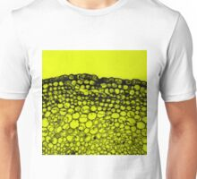 Crowded - Abstract In Black And Yellow Unisex T-Shirt