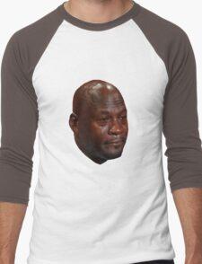 CRYING JORDAN Men's Baseball ¾ T-Shirt