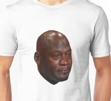 CRYING JORDAN Unisex T-Shirt