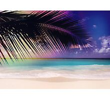 The Beach...Enchanting Summer! Photographic Print