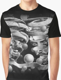 In the style of Escher Graphic T-Shirt