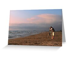 Sauble Beach, Photographers' delight Greeting Card