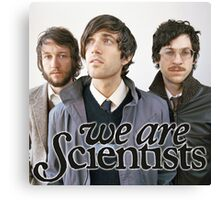 We Are Scientists Band Canvas Print