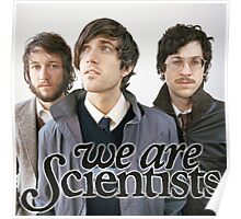 We Are Scientists Band Poster