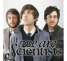 We Are Scientists Band Photographic Print