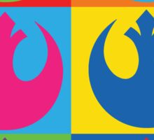 Rebel Alliance Pop Art Sticker