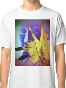 6940 Buddha in Violet and Yellow T Classic T-Shirt