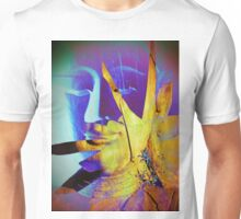 6940 Buddha in Violet and Yellow T Unisex T-Shirt