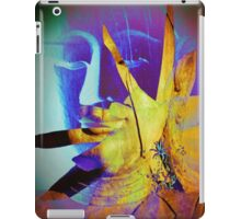 6940 Buddha in Violet and Yellow T iPad Case/Skin