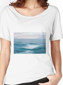 Beach painting - The Ocean Women's Relaxed Fit T-Shirt
