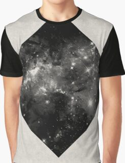Space Diamond - Abstract, Geometric Space Scene Graphic T-Shirt