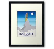 Shuttle Launch Framed Print