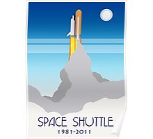 Shuttle Launch Poster