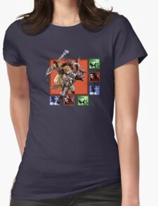 Kingdom Hearts - Birth By Sleep Womens Fitted T-Shirt