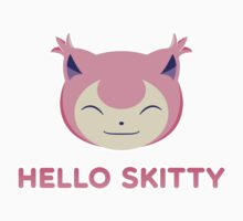 Hello Skitty One Piece - Long Sleeve