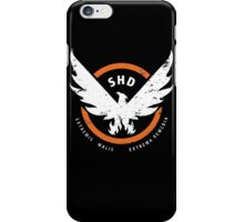 Tom Clancy's The Division: SHD  iPhone Case/Skin