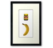 ; Semi-colon Framed Print