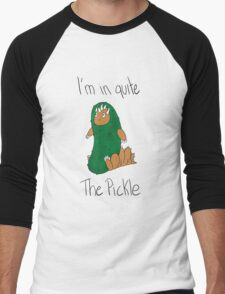 Pickle Problem Men's Baseball ¾ T-Shirt