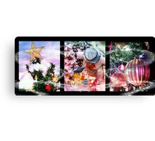 Christmas Trio Canvas Print