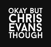 Chris Evans - White Text Unisex T-Shirt