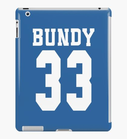 Bundy 33 iPad Case/Skin
