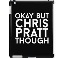 Chris Pratt - White Text iPad Case/Skin