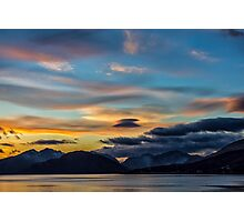 Sunset Loch Linnhe Photographic Print