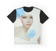 Flor Azul Graphic T-Shirt