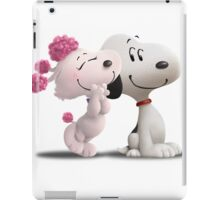 snoopy with love iPad Case/Skin