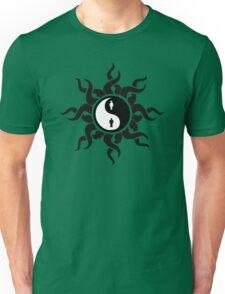 Yin Yang Man Woman Tribal Art Unisex T-Shirt
