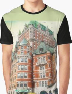 Chateau Frontenac, Quebec City, Canada Graphic T-Shirt