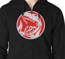 Tyrannosaurus! Zipped Hoodie