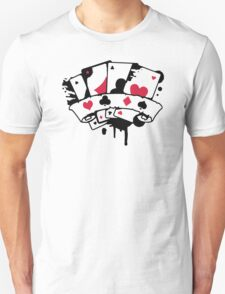 Four Playing Cards T-Shirt