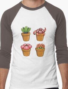 Poke-pot plants Men's Baseball ¾ T-Shirt