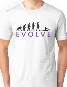Funny Yoga Evolution  Unisex T-Shirt