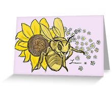 Honey Bee - Willow Greeting Card