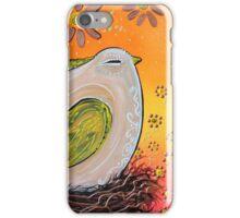 Nesting Bird iPhone Case/Skin