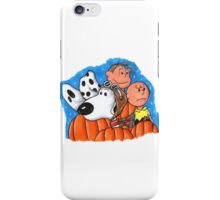 1snoopy and charlie brown iPhone Case/Skin