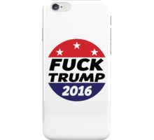 FUCK TRUMP | Official | Logo iPhone Case/Skin