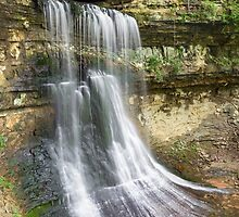 Porter Cave Falls by Kenneth Keifer