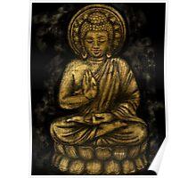 Zen Gold, Buddha 1 Poster