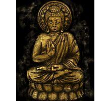 Zen Gold, Buddha 1 Photographic Print
