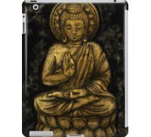 Zen Gold, Buddha 1 iPad Case/Skin
